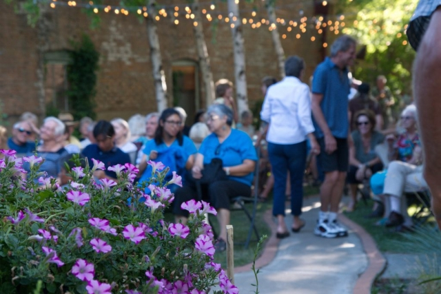 Community Concerts in the Secret Garden