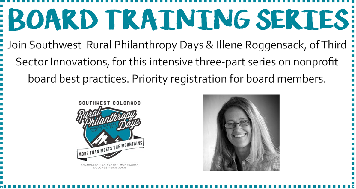 Registration for 3-Part Board Training Series Open